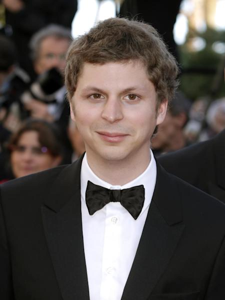 """FILE - This May 24, 2013 file photo shows actor Michael Cera arrives for the screening of The Immigrant at the 66th international film festival, in Cannes, southern France. Michael Cera and Kieran Culkin are slated to star together on Broadway in Kenneth Lonergan's play """"This Is Our Youth,"""" a comedy about the high times and aimless lives of two disaffected young men. (Photo by Joel Ryan/Invision/AP, File)"""