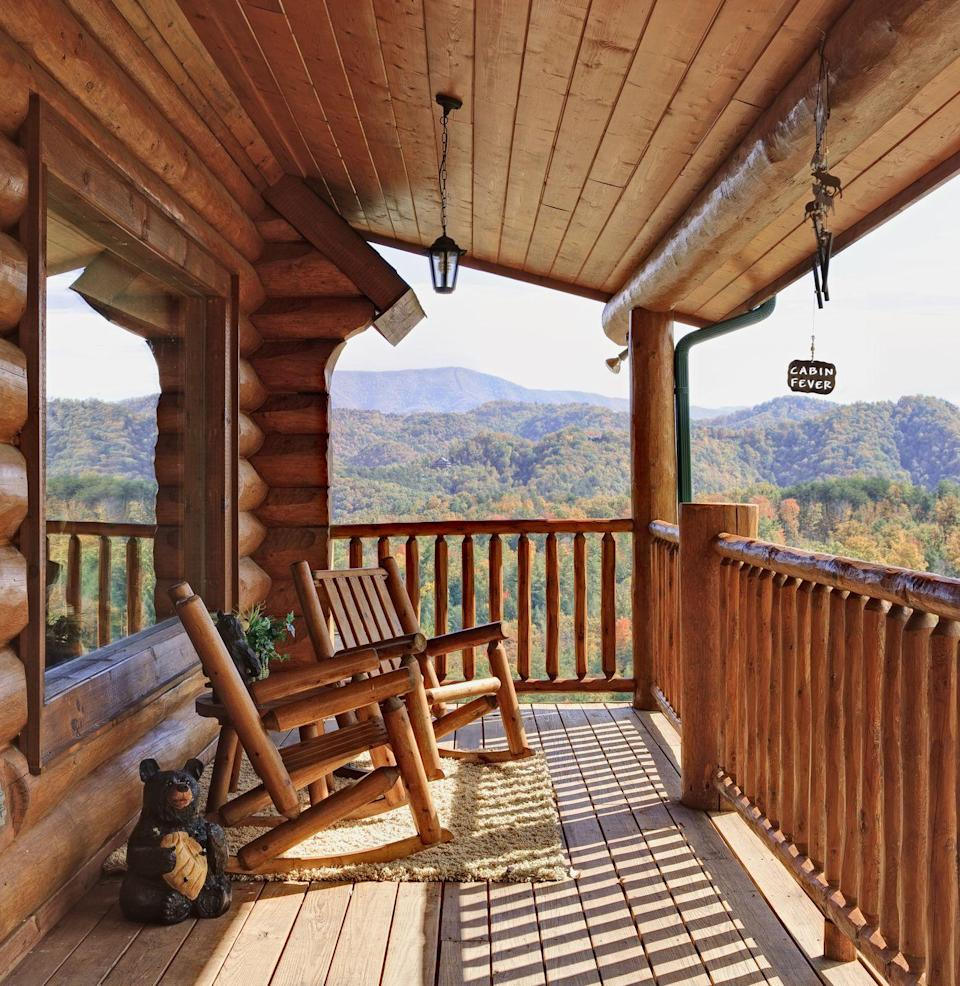 """<p>""""This is a perfect weekend getaway,"""" says Federoff. """"You can cuddle up by the fire with a bottle of wine or get romantic in a hot tub while star gazing. This allows you both to really connect and unplug from the world.""""</p>"""