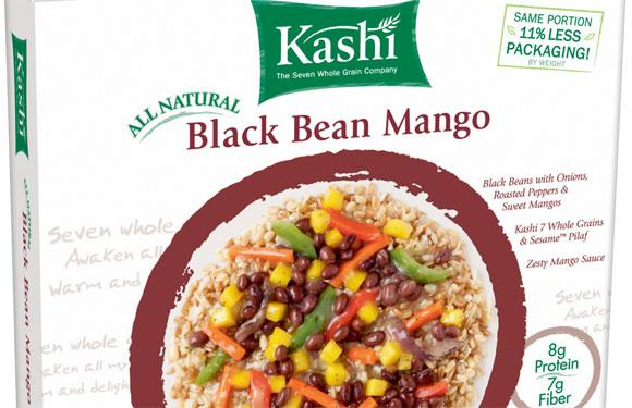 <strong>9. Kashi Frozen Dinners:</strong><br />Most frozen dinners develop decent flavor and texture when baked in a conventional oven for 20 to 40 minutes but turn into a spongy, uneven mess when nuked. Kashi tweaked their techniques to adjust the moisture levels and deliver only the best.