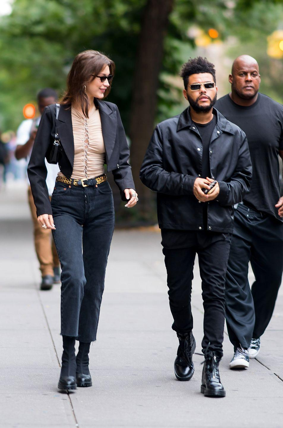 <p>Out and about on the streets of NYC in perhaps the purest distillation of the look yet. </p>