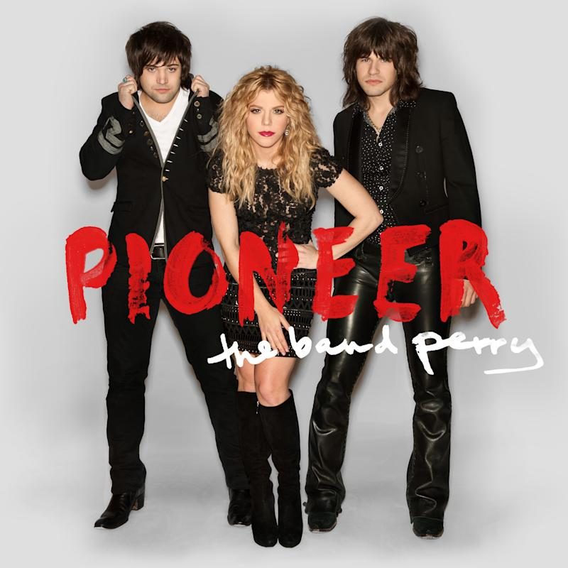 """This CD cover image released by Republic Nashville shows """"Pioneer,"""" by The Band Perry. (AP Photo/Republic Nashville)"""