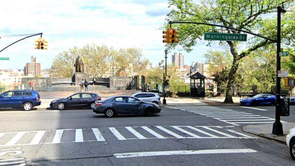 PHOTO: 116th Street and Morningside Dr. in New York. (Google Maps Street View)