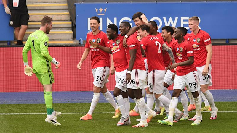 Maguire says Man Utd must go to next level after clinching Champions League place