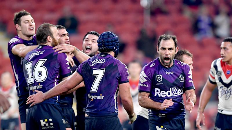 Melbourne Storm 27-25 Sydney Roosters: Smith seals thrilling golden-point win