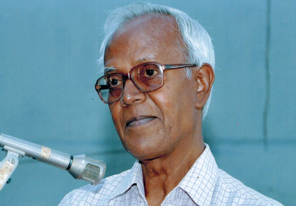 Father Stan Swamy, 84, a Jesuit priest and tribal rights activist, suffered from Parkinson's disease (CC/Khetfield59)