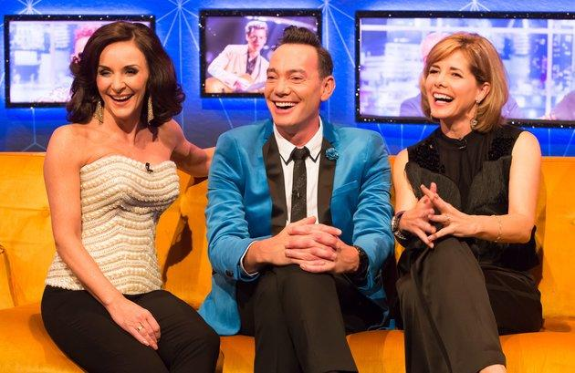 Craig and fellow 'Strictly' judges Shirley Ballas and Darcey Bussell