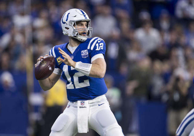 Andrew Luck was surprisingly omitted from Pro Bowl selection, despite an incredible comeback season