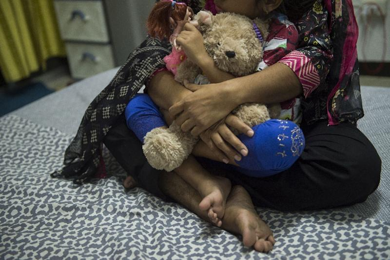Thai authorities have signed an MoU to end the detention of all child refugees and asylum seekers (AFP Photo/Romeo GACAD)