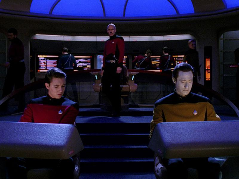 Picard faces a dilemma in <i>Star Trek: The Next Generation</i> episode <i>'Yesterday's Enterprise'</i> (CBS)