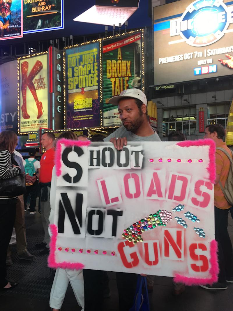 """GAG is """"committed to nonviolently breaking the gun industry's chain of death—investors, manufacturers, the NRA and politicians who block strong gun laws."""""""