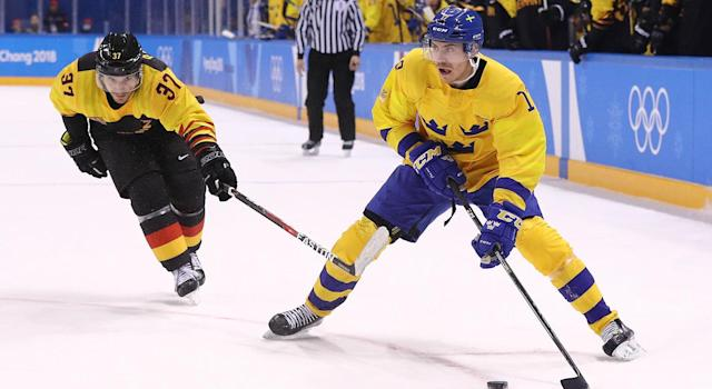Par Lindholm has reportedly agreed to terms with the Toronto Maple Leafs. (Maddie Meyer/Getty Images)