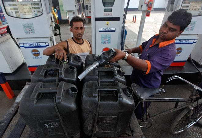 Both petrol and diesel are supplied by the oil companies to petrol pumps  at a little over Rs 30 per litre. It is the imposition of Central  excise duty and state government levies such as VAT that result in  raising the price of petrol to over Rs 70 per litre and that of diesel  to Rs 58.70 a litre. <br />