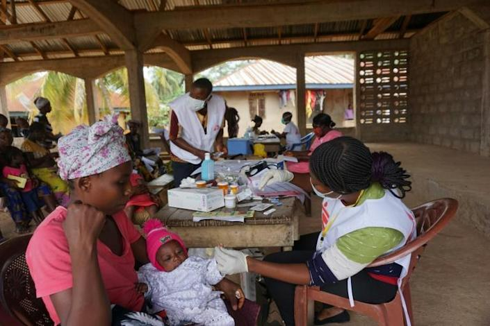 MSF donates drugs and vaccines to cash-strapped local health centres and operates mobile clinics in remote areas