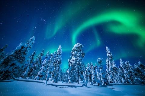 Search for the Northern Lights with The Aurora Zone - Credit: The Aurora Zone/Antti Pietikainen