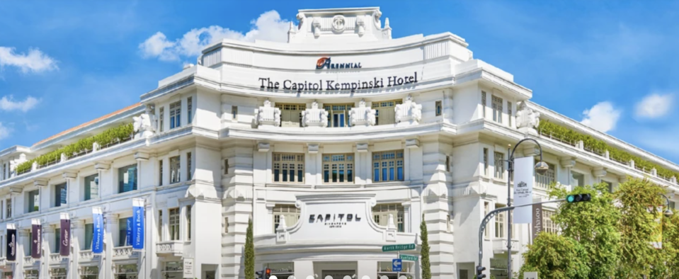Capitol Kempinski Staycation with Dining Credits and Gift, from S$453.15 (was S$629.19). PHOTO: Klook