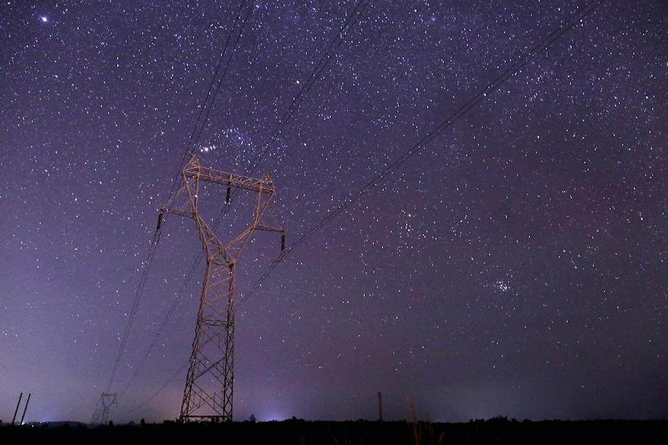 """A """"strong signal"""" detected by a radio telescope in Russia that is scanning the heavens for signs of extraterrestrial life has stirred interest among the scientific community (AFP Photo/Ye Aung Thu)"""