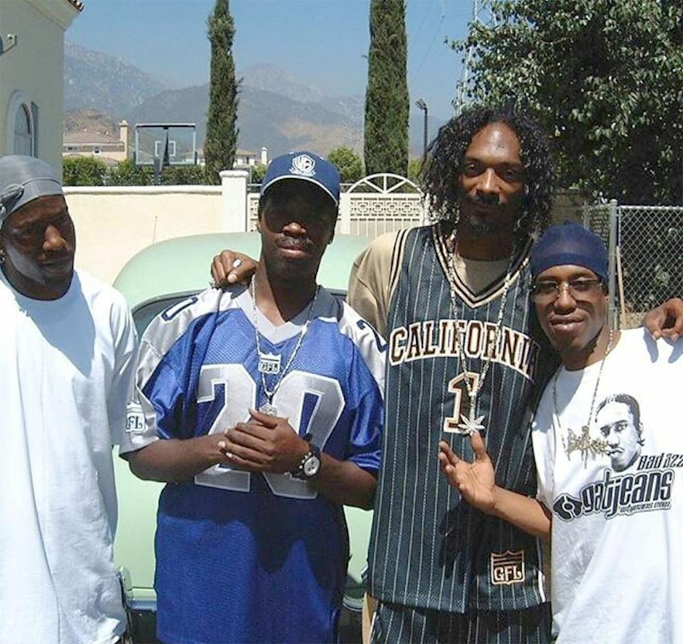 Bad Azz with Snoop Dogg | Bad Azz/Instagram