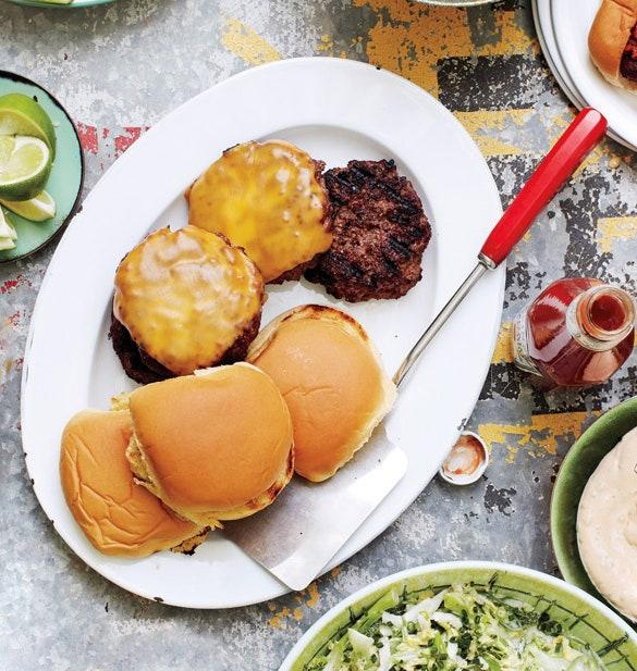 """Five ingredients and five steps will get you to burger heaven. <a href=""""https://www.epicurious.com/recipes/food/views/the-ba-burger-deluxe-51179070?mbid=synd_yahoo_rss"""">See recipe.</a>"""