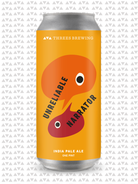 "<p><strong></strong><strong>The Brew:</strong> Unreliable Narrator</p><p><strong>The Brewery:</strong> Threes Brewing</p><p><strong>The Flavors:</strong> ""Mango, Southern tea, dank, lychee, and snowpine.""</p><p><a rel=""nofollow"" href=""https://threesbrewing.myshopify.com/collections/beer/products/unreliable-narrator""><u>threesbrewing.myshopify.com</u></a>.</p>"