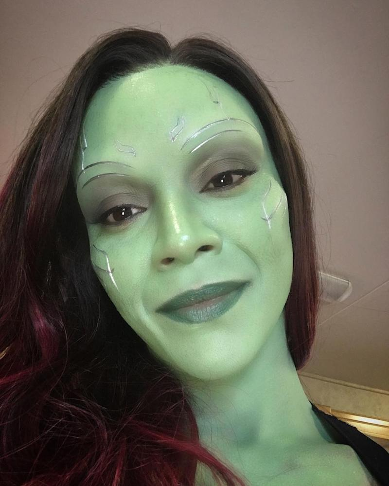Zoe Saldana Shares Adorable Pic of Her Twins & 'Guardians ...