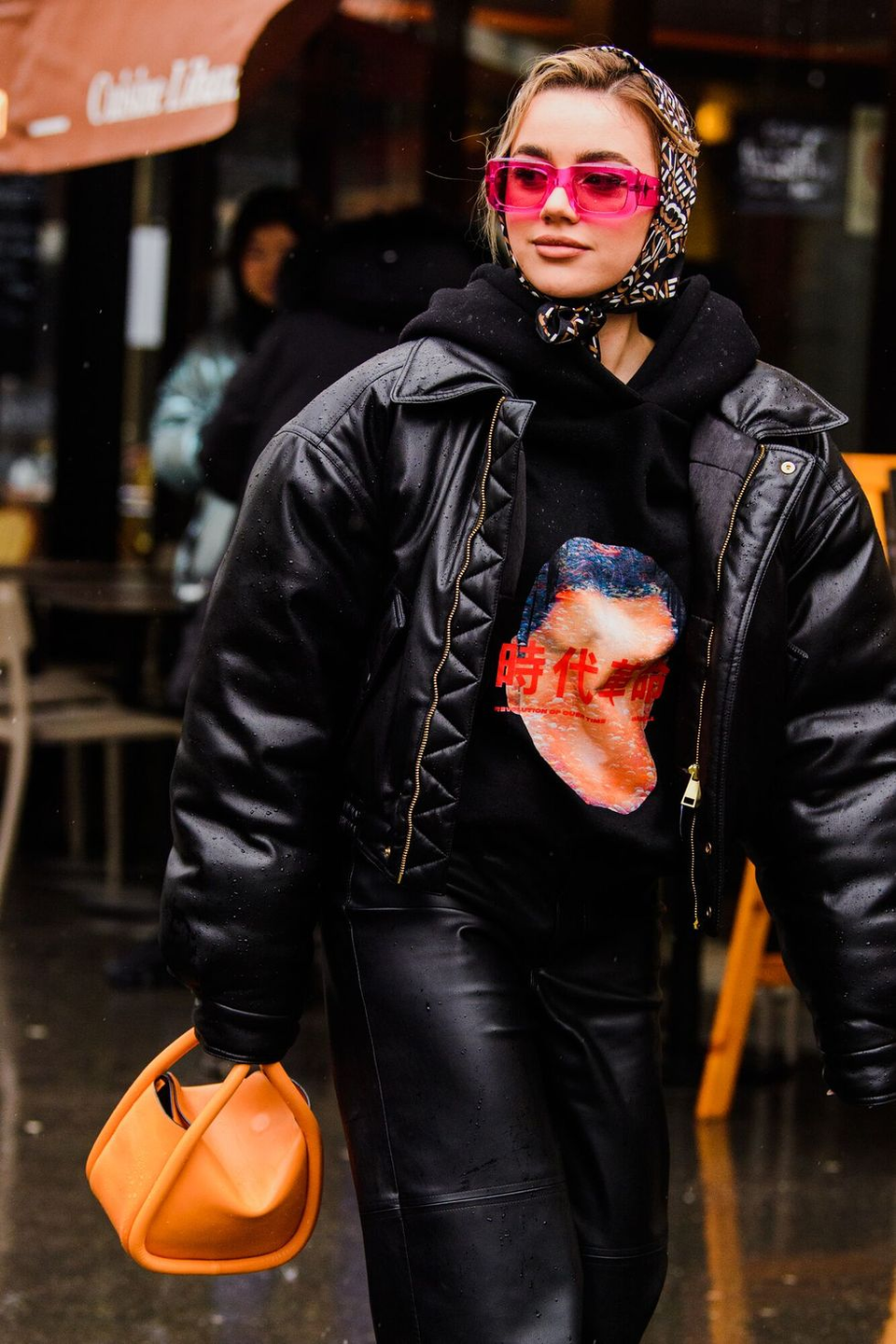 <p>The '80s are calling and they want you to revisit the bomber jacket. The bolder the better.</p>