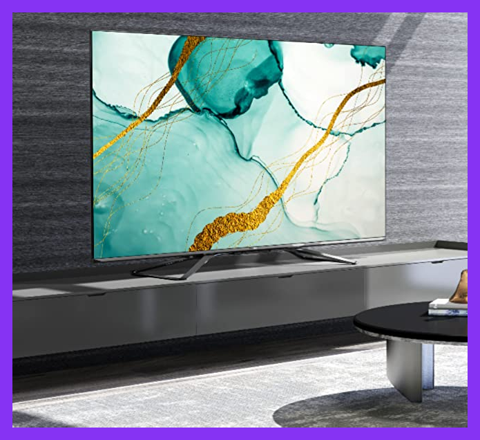 This stunning Hisense 55-inch TV is $135 off right now. (Photo: Hisense)