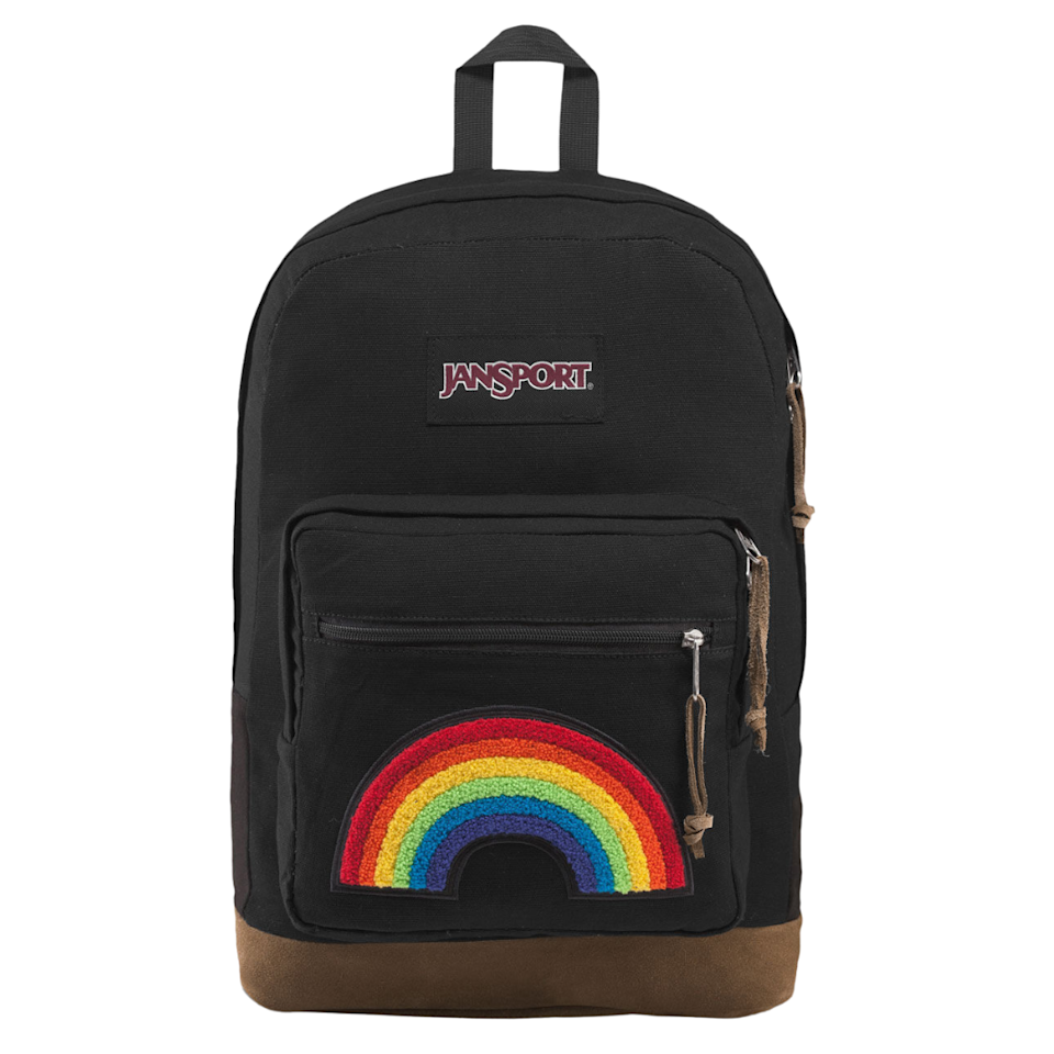 """You can never go wrong with a Jansport backpack. Not only are they pretty sturdy but they also come in so many colors. You can choose your favorite or buy a few if you are feeling indecisive since they'll never go out of style! $52, Tilly's. <a href=""""https://www.tillys.com/product/jansport-right-pack-expressions-rainbow-power-backpack/371559149.html"""" rel=""""nofollow noopener"""" target=""""_blank"""" data-ylk=""""slk:Get it now!"""" class=""""link rapid-noclick-resp"""">Get it now!</a>"""