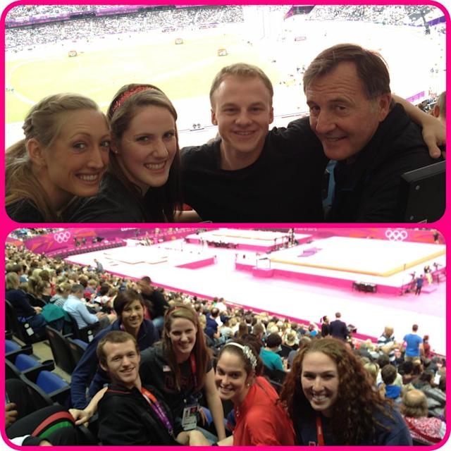 Saw Gymnastics and Athletics yesterday! It was my first time going to an Olympic event as a spectator! So much fun!