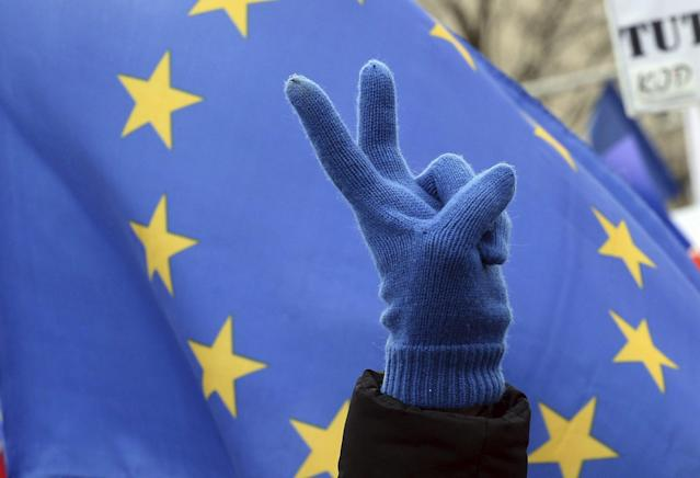 <p>No. 6: European Union<br>57 per cent of 18,000 respondents thought the EU had a positive influence on world affairs — a tie with the United Kingdom on this list. (Canadian Press) </p>