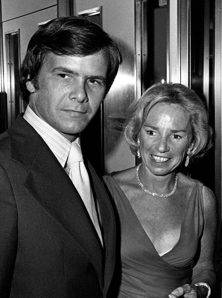 Tom Brokaw encounters Ethel Kennedy at a tennis tournament in honor of her late husband, Robert, in August 1976. (Photo: Ron Galella, Ltd./Ron Galella Collection via Getty Images)