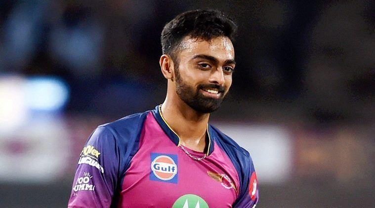 Unadkat while playing for RPS