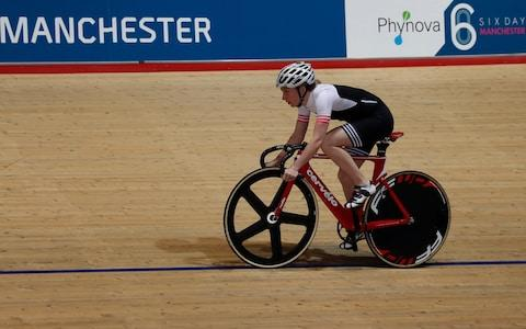 <span>Kenny returns to the boards at the Manchester Six Day</span> <span>Credit: PA </span>