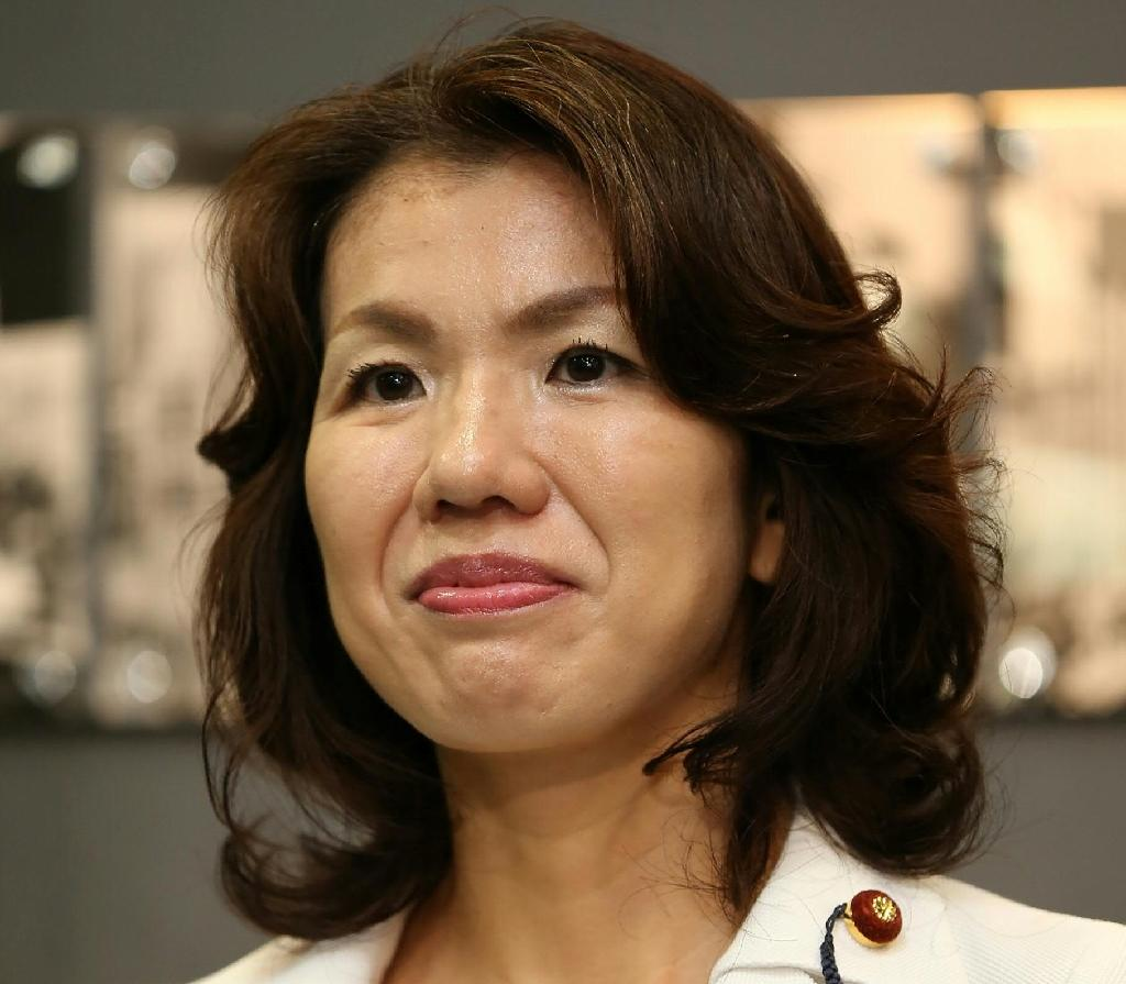 Mayuko Toyota, a 42-year-old Harvard graduate and up-and-coming member of the ruling Liberal Democratic Party (LDP), can be heard on the tape screaming at the unnamed aide, saying he should die as she mocked his thinning hair (AFP Photo/)
