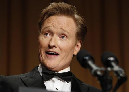 Comedian O'Brien speaks at the White House Correspondents Association Dinner in Washington