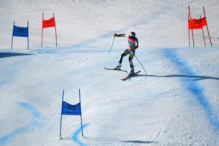 Norwegian Henrik Kristoffersen was ninth in the giant slalom