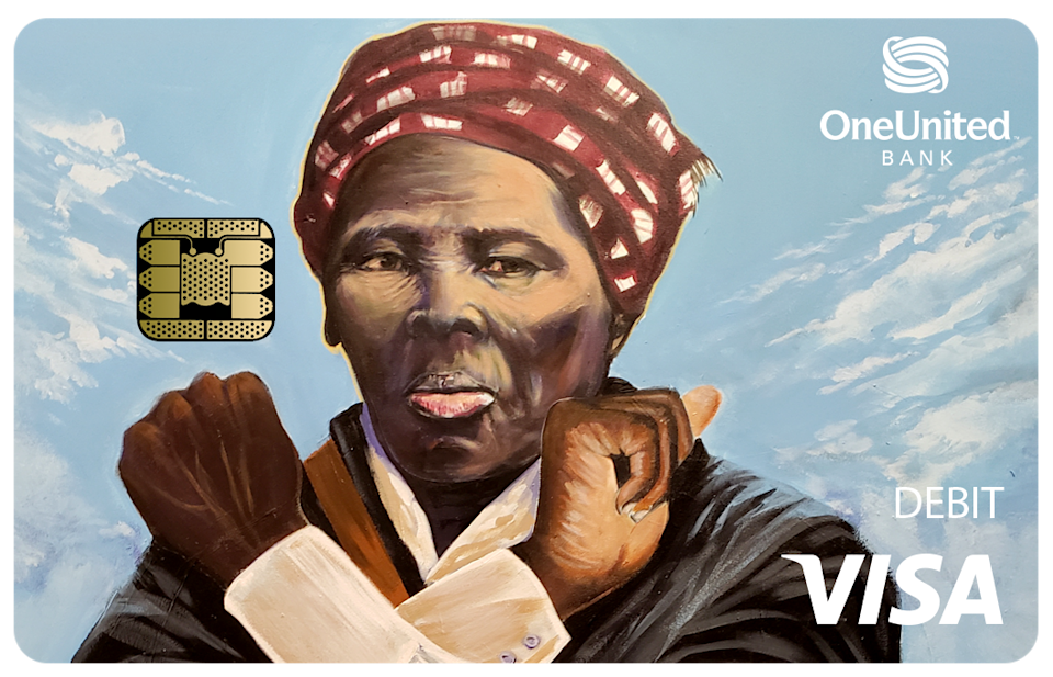 OneUnited Bank releases a Harriet Tubman debit card in honor of Black History Month. (Photo: Courtesy of OneUnited Bank)