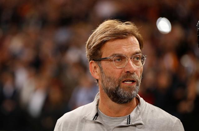 Soccer Football - Champions League Semi Final Second Leg - AS Roma v Liverpool - Stadio Olimpico, Rome, Italy - May 2, 2018 Liverpool manager Juergen Klopp before the match Action Images via Reuters/John Sibley