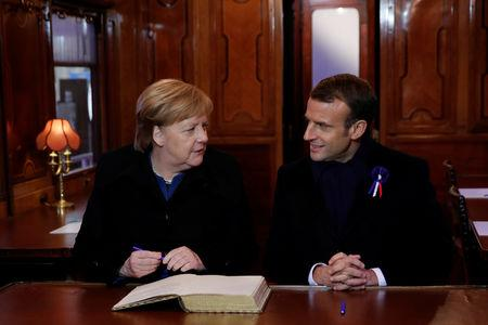 Merkel backs Macron's call for a 'real' European army