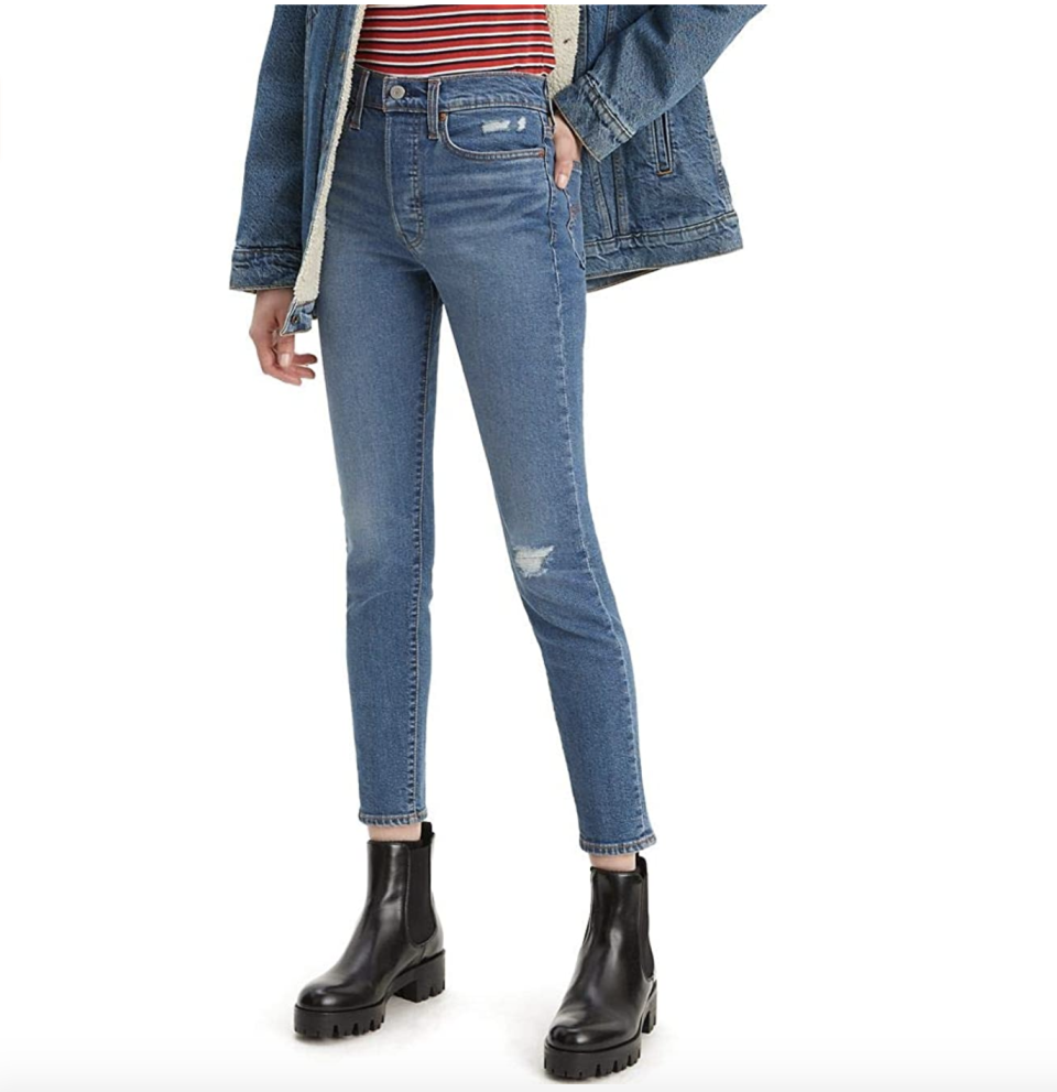 These jeans create an exceptional rear view and are nearly 40 percent off for Prime Day. (Photo: Amazon)