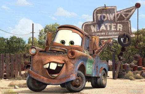 Mater from 'Cars 2'.