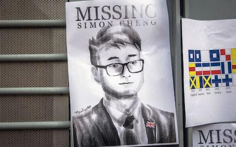 Britain has expressed its extreme concern about the missing employee - Credit:  ROMAN PILIPEY/EPA