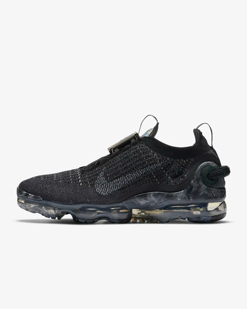 "<br><br><strong>Nike</strong> Air VaporMax 2020 FK Sustainable Edition, $, available at <a href=""https://go.skimresources.com/?id=30283X879131&url=https%3A%2F%2Fwww.nike.com%2Ft%2Fair-vapormax-2020-flyknit-mens-shoe-kn9vwZ%2FCJ6740-002"" rel=""nofollow noopener"" target=""_blank"" data-ylk=""slk:Nike"" class=""link rapid-noclick-resp"">Nike</a>"