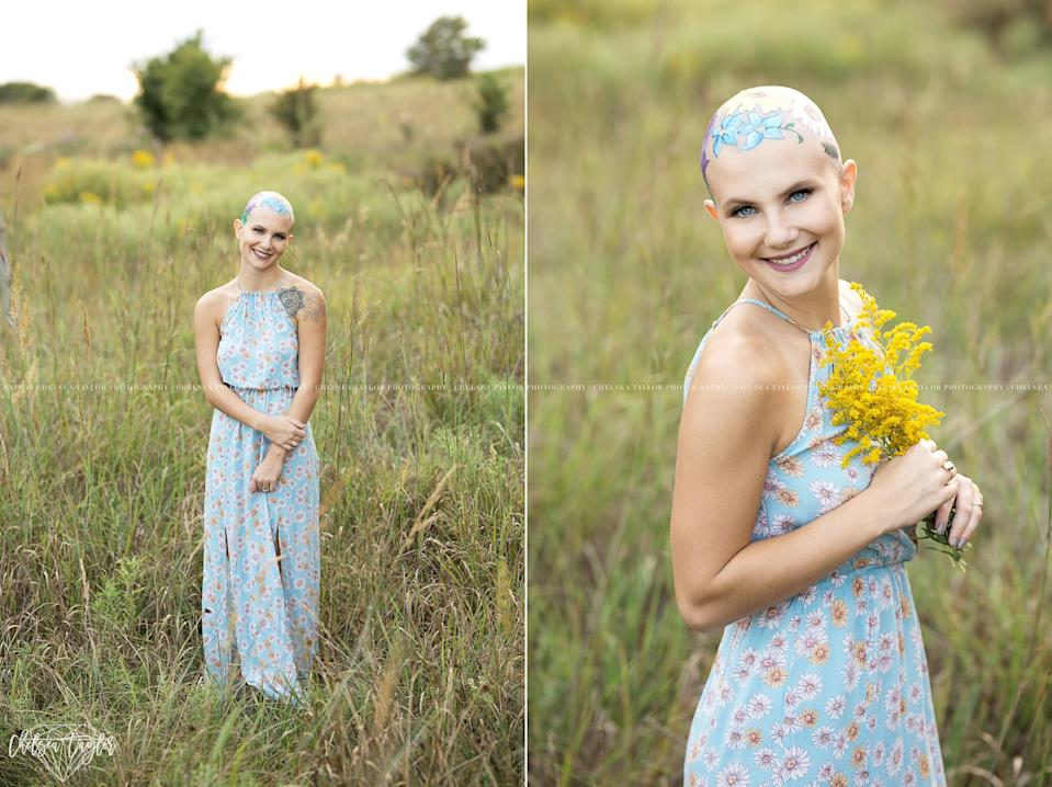 "The teen's photographer calls her an ""earth child,"" which is reflected in the photos. (Photos: Chelsea Taylor Photography)"