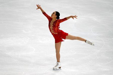 FILE PHOTO: Figure Skating - ISU Grand Prix of Figure Skating Trophee de France 2016/2017 - Ladies Free Skate - Paris, France - 12/11/16 - Mao Asada of Japan skates. REUTERS/Charles Platiau