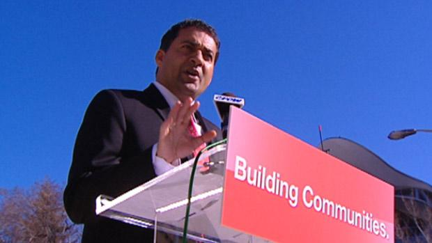 Alberta Liberal Party Leader Raj Sherman.