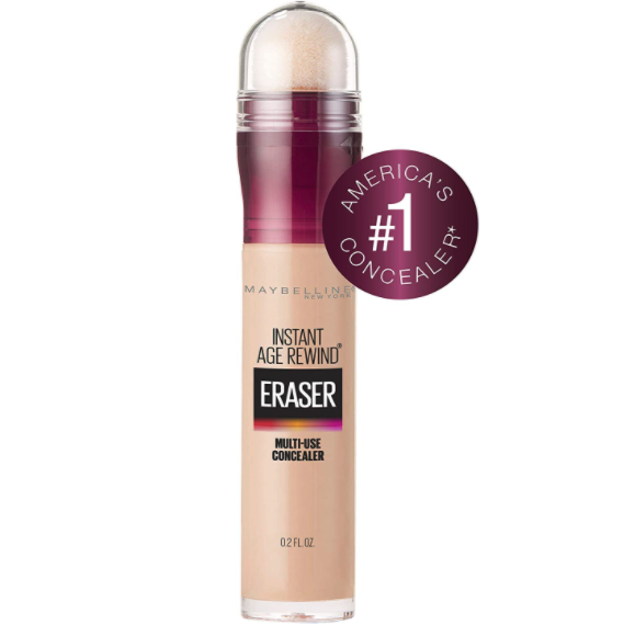 Save 31% on Maybelline New York Instant Age Rewind Eraser Dark Circles Treatment Concealer. Image via Amazon.