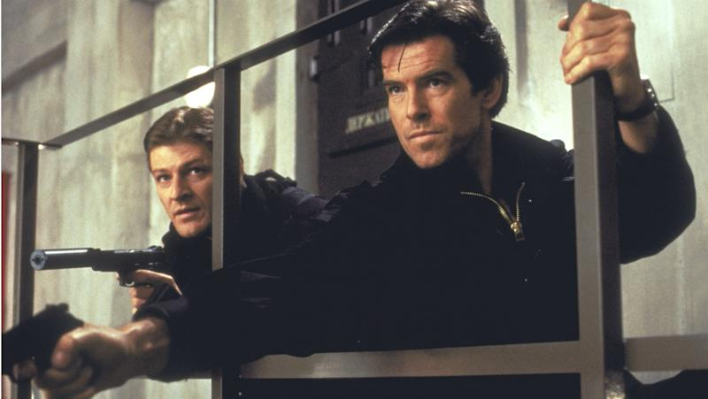Sean Bean and Pierce Brosnan in GoldenEye (Credit: MGM/United Artists)
