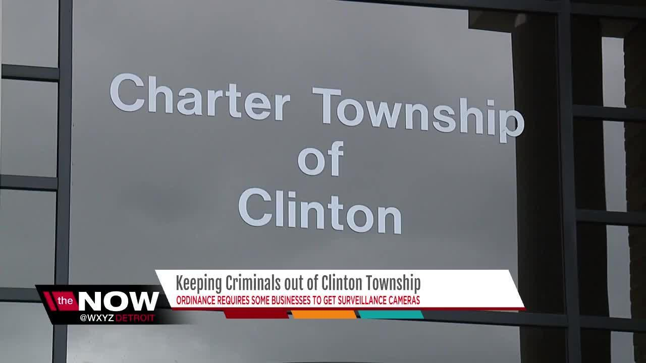 Criminals stay out of Clinton Township!  That's the message Clinton Township Supervisor Bob Cannon hopes a new ordinance sends.