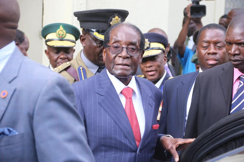 What You Need To Know About the 'Coup' in Zimbabwe That Could Oust Robert Mugabe