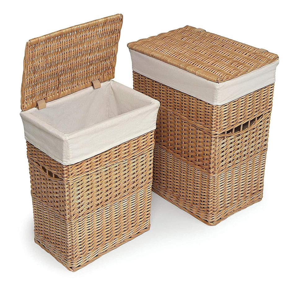 Laundry Hampers with Lid from Amazon